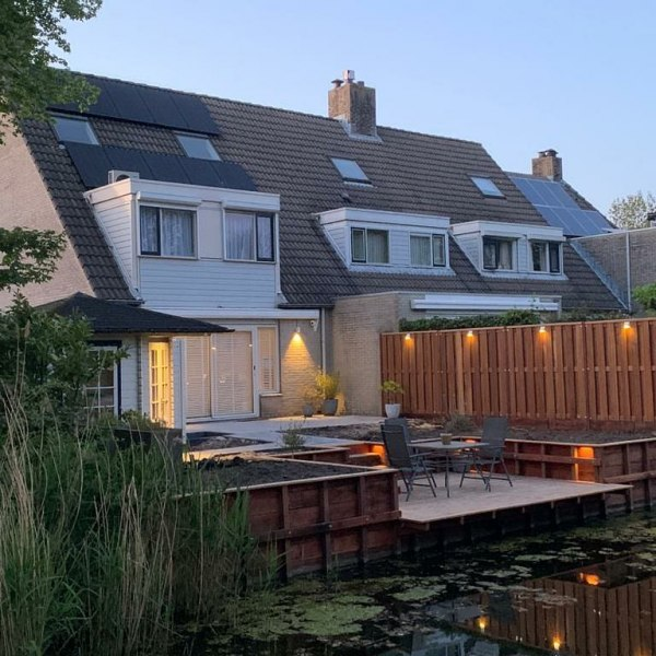 Tuin in Capelle a/d IJssel